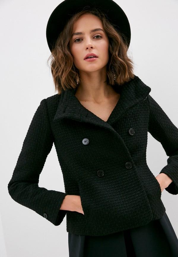 женское пальто patrizia pepe, черное