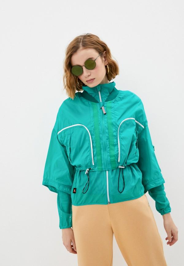 женская куртка patrizia pepe, зеленая
