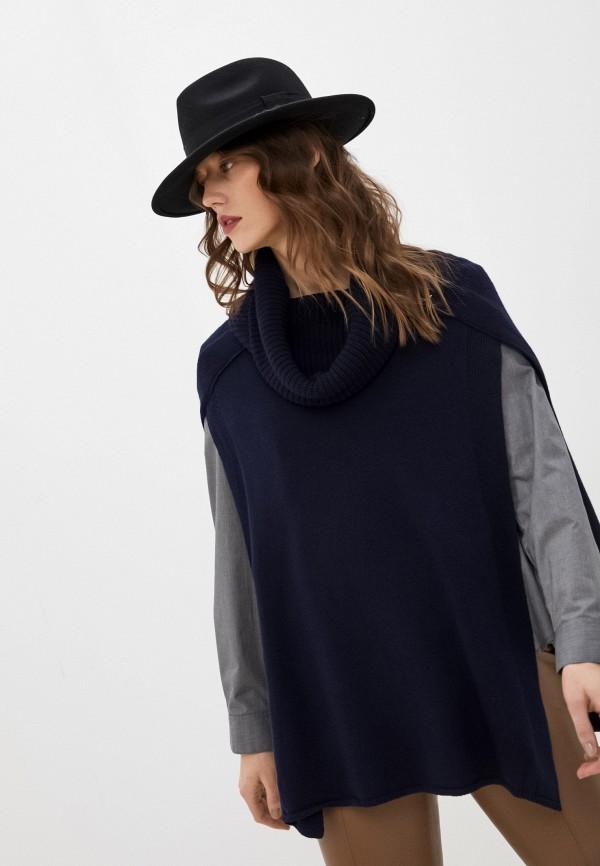 женский свитер patrizia pepe, синий