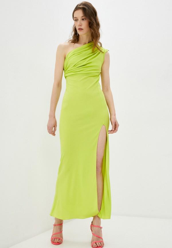 женское вечерние платье patrizia pepe, зеленое