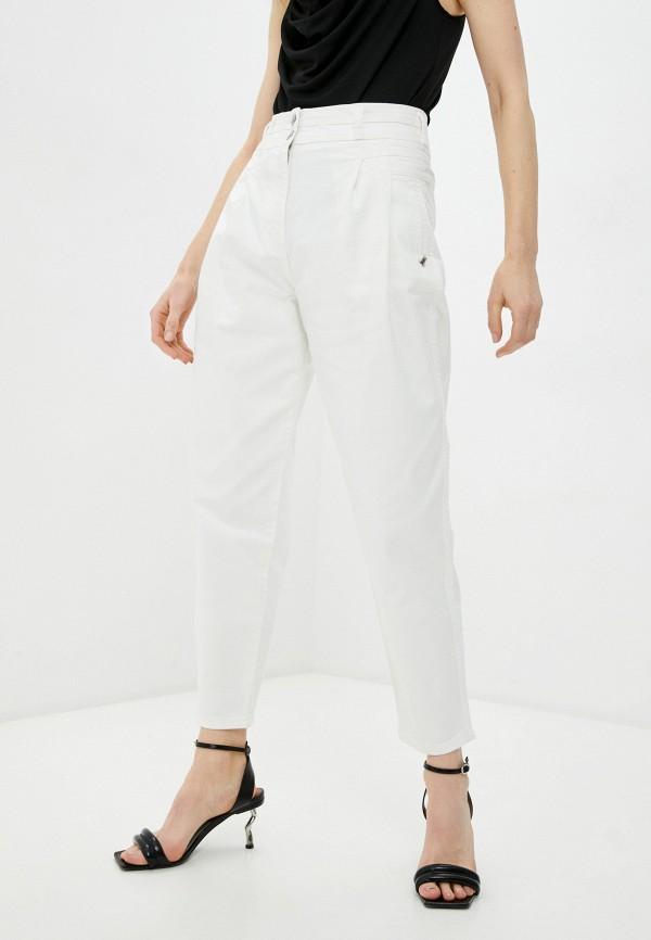 женские джинсы-мом patrizia pepe, черные
