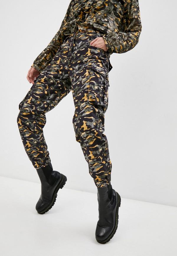 женские брюки карго patrizia pepe, разноцветные