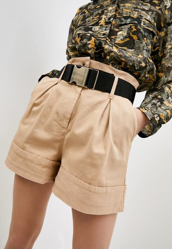 женские повседневные шорты patrizia pepe, бежевые