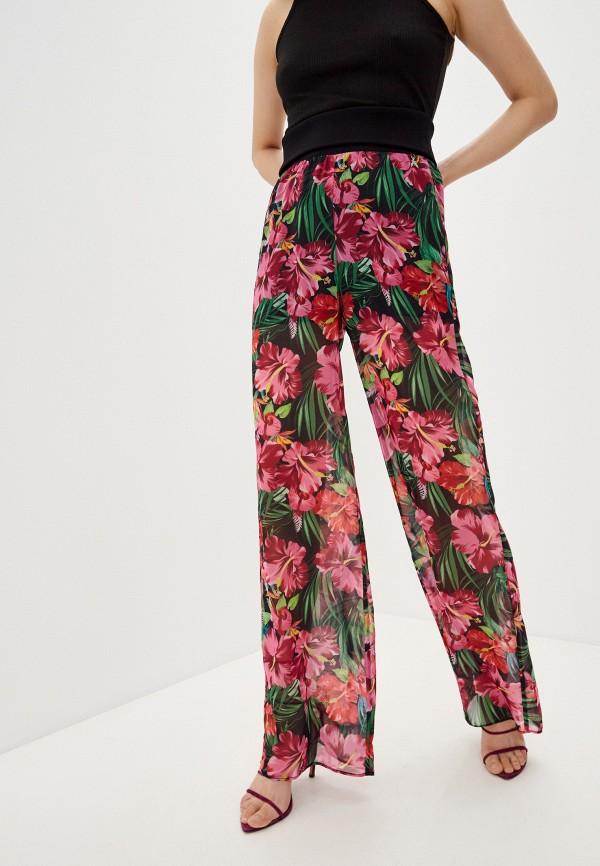 женские брюки джоггеры patrizia pepe, розовые