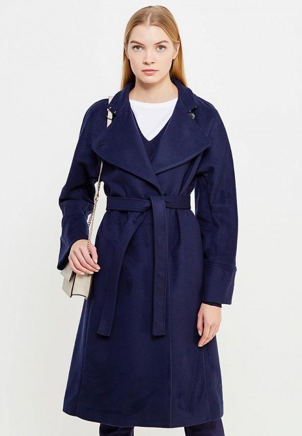 женское пальто patrizia pepe, синее