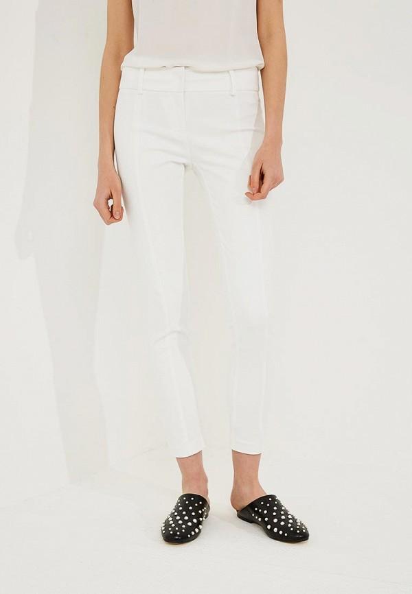 женские зауженные брюки patrizia pepe, белые