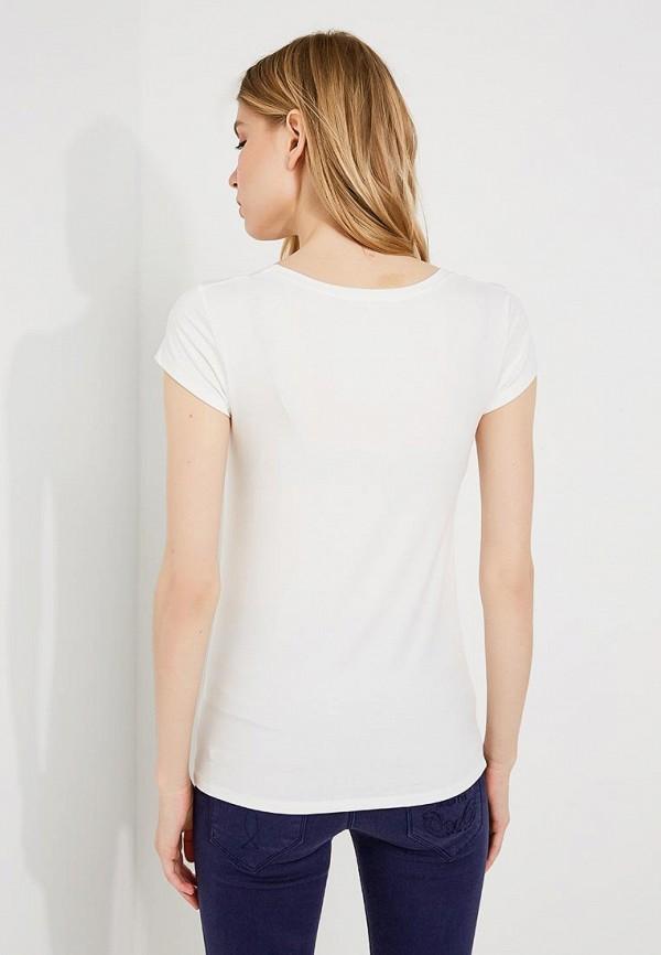 Фото 6 - женскую футболку Patrizia Pepe белого цвета