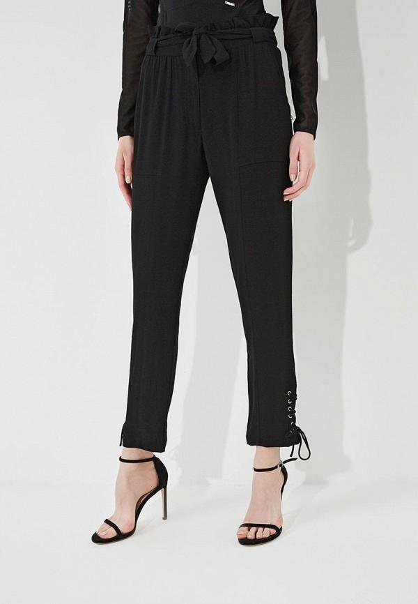 женские зауженные брюки patrizia pepe, черные