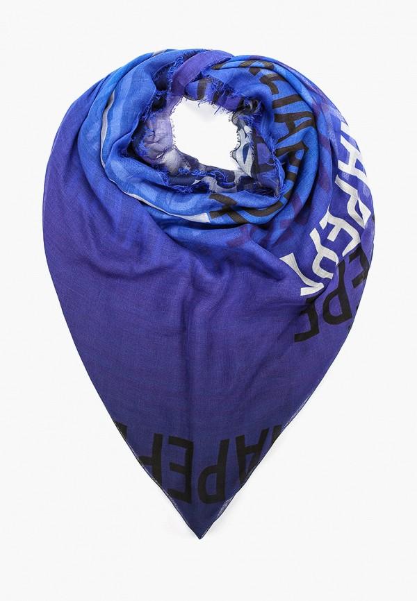 женский палантин patrizia pepe, синий