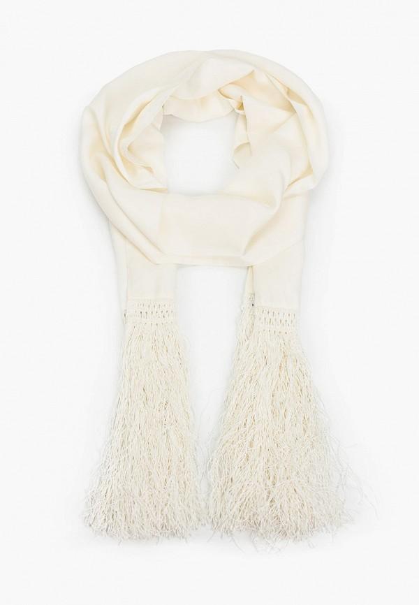 женский шарф patrizia pepe, белый