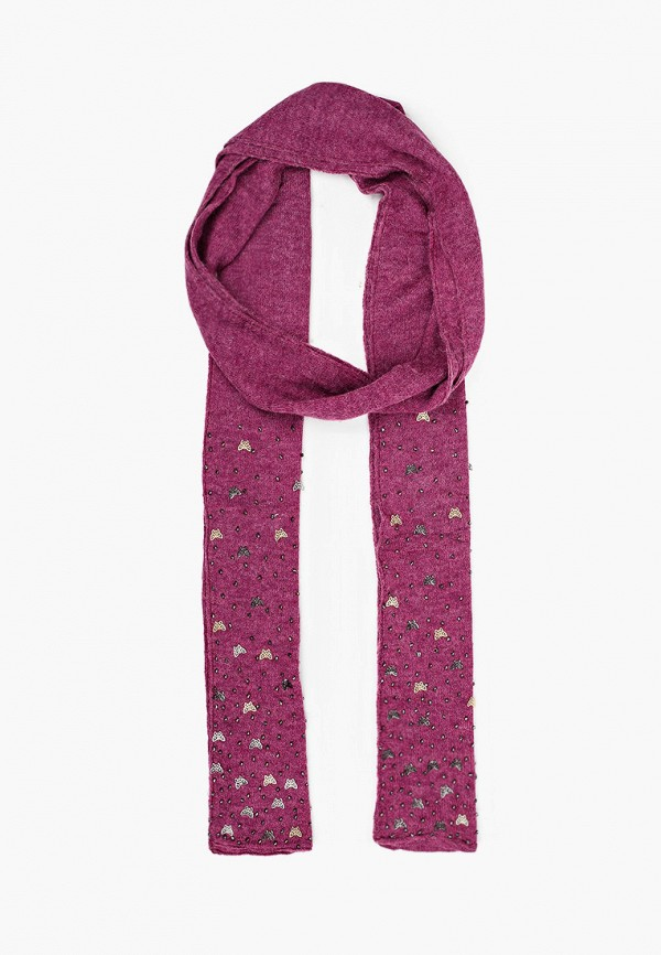 женский шарф patrizia pepe, фиолетовый