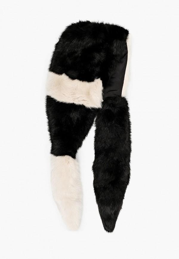 женский шарф patrizia pepe, черный