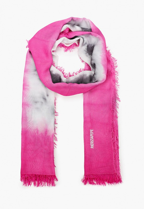 женский палантин patrizia pepe, розовый