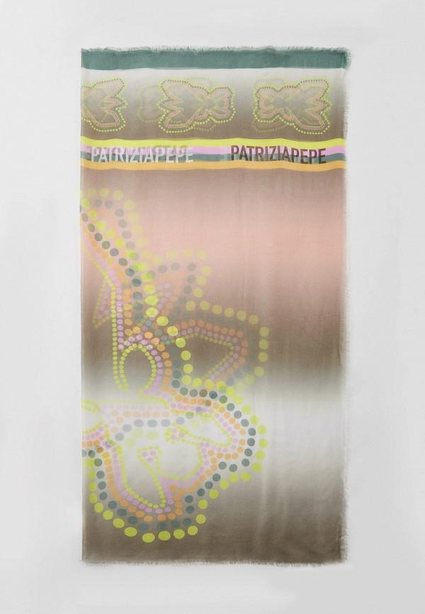 женский платок patrizia pepe, разноцветный