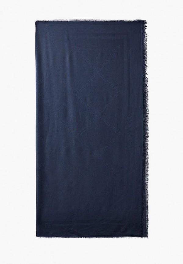 женский платок patrizia pepe, синий