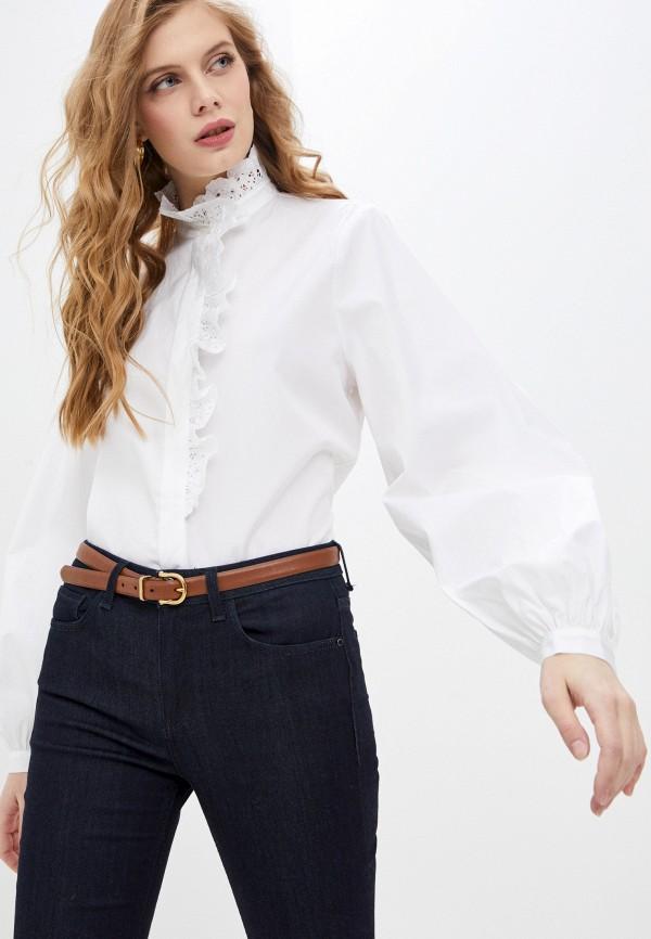 женская блузка paul & joe, белая
