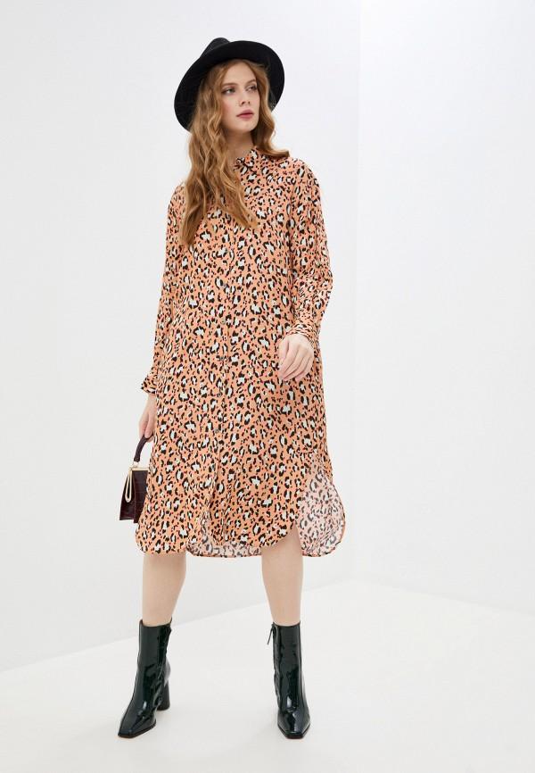 женское платье paul & joe, розовое
