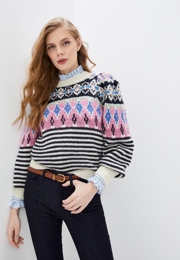 женский джемпер paul & joe, разноцветный