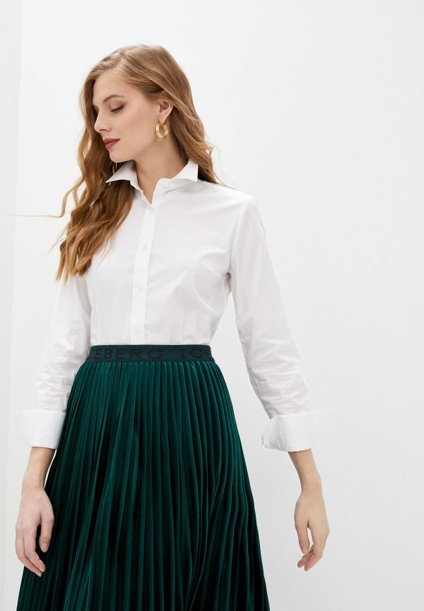 женская рубашка с длинным рукавом paul & joe, белая