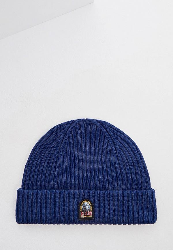 мужская шапка parajumpers, синяя