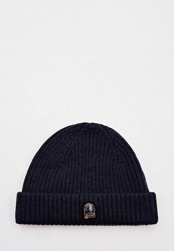 женская шапка parajumpers, синяя