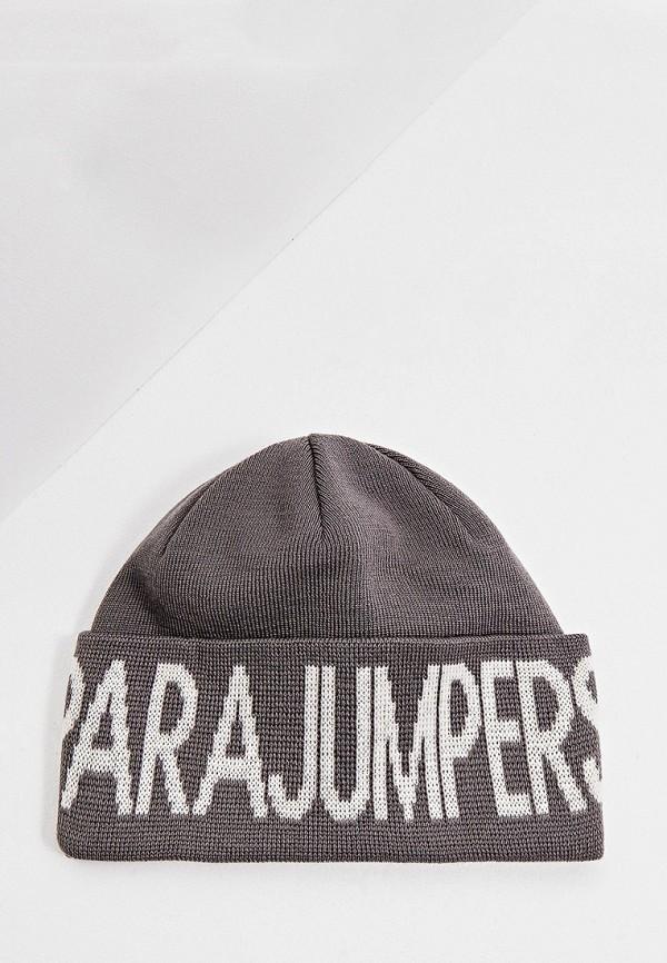 женская шапка parajumpers, серая