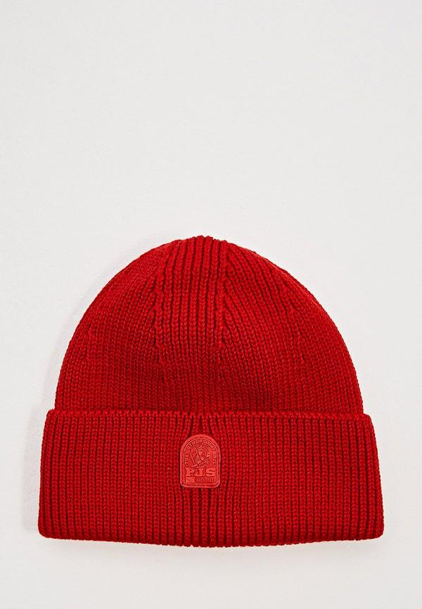 женская шапка parajumpers, красная