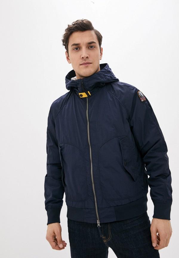 мужская куртка parajumpers, синяя
