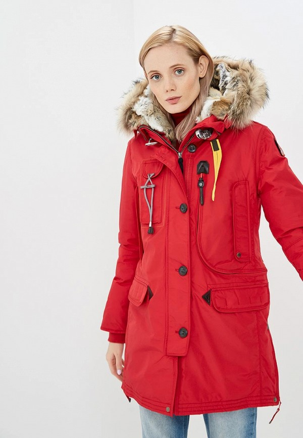 женская куртка parajumpers, красная