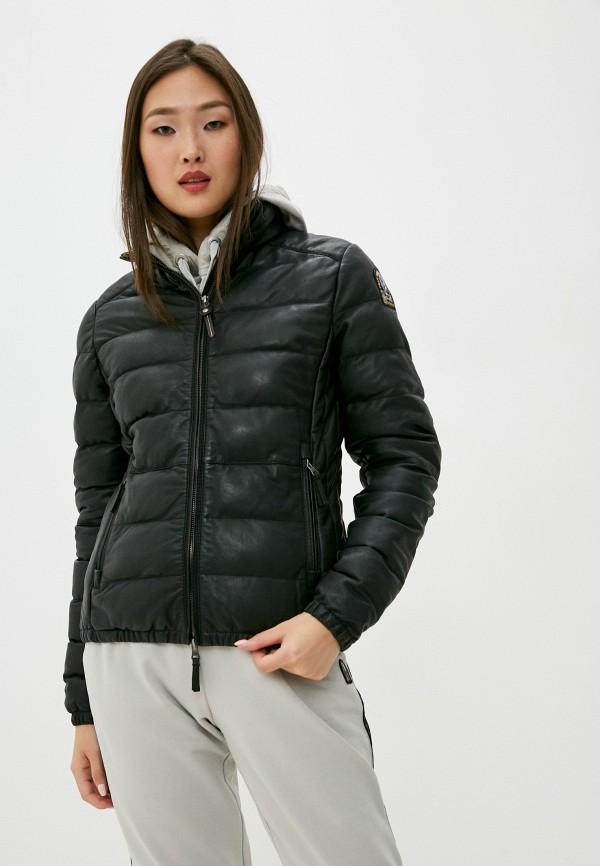 женская куртка parajumpers, черная