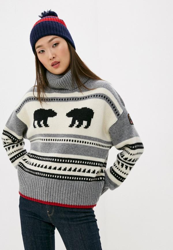 женский свитер parajumpers, серый