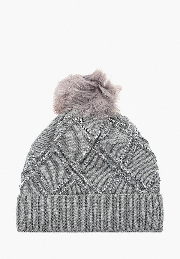 женская шапка pdk, серая