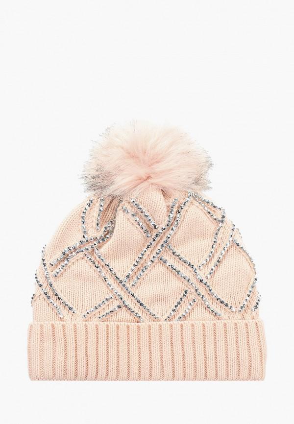женская шапка pdk, розовая