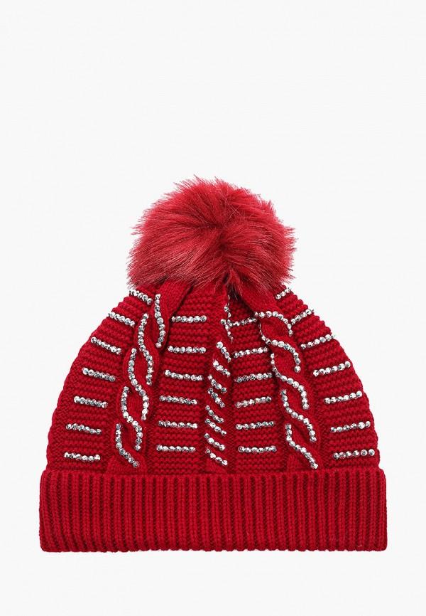 женская шапка pdk, красная
