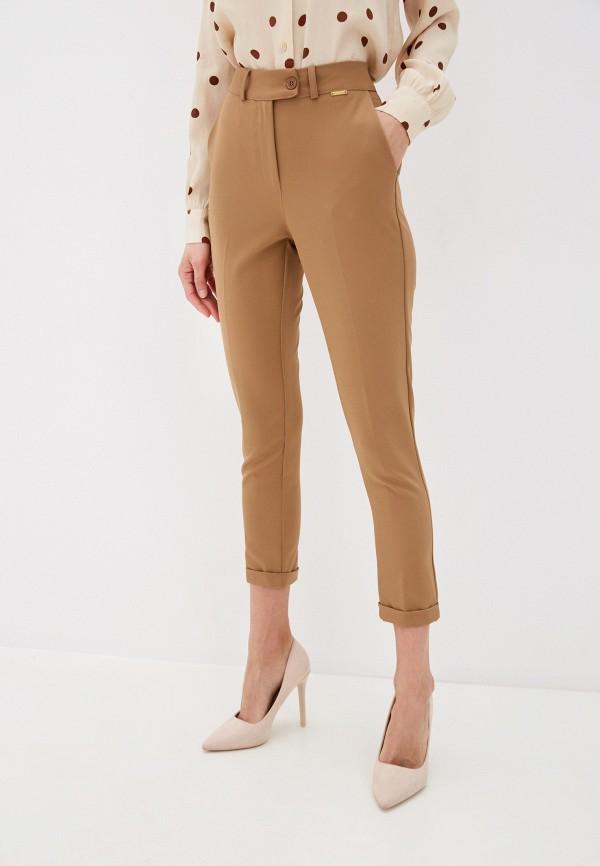 женские классические брюки pdk, бежевые