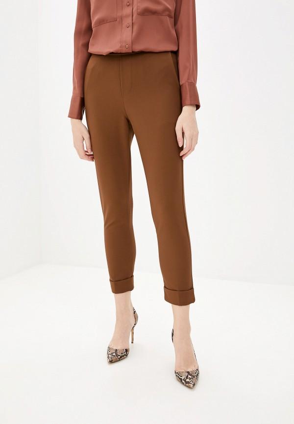 женские повседневные брюки pdk, коричневые