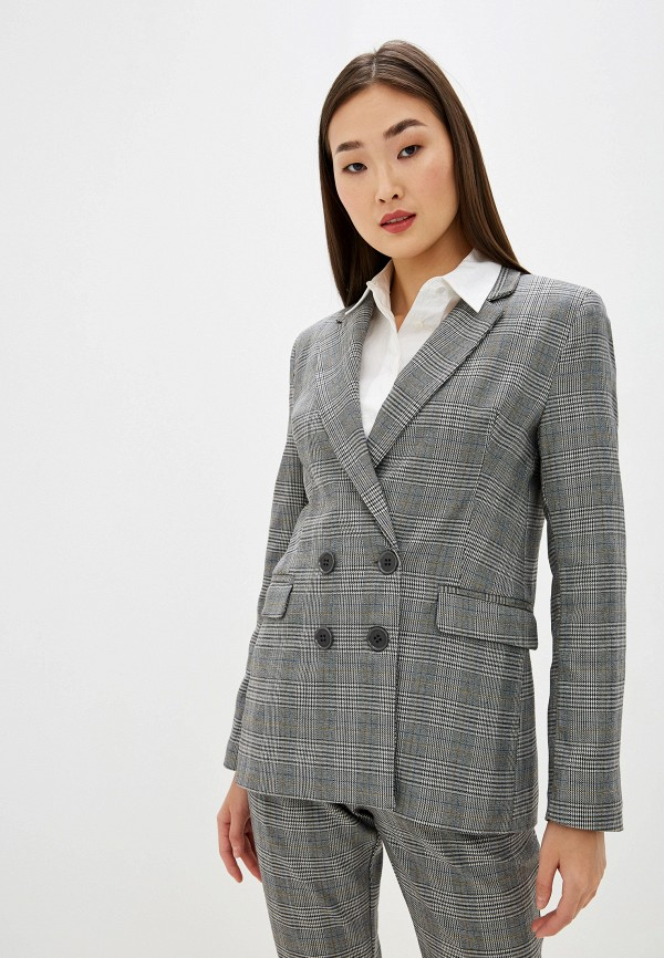женский пиджак pdk, серый