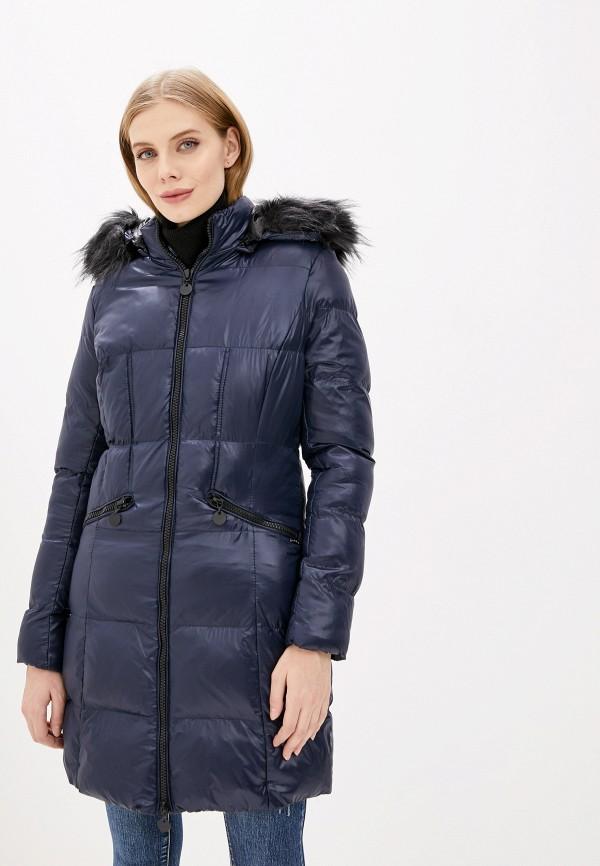женская куртка pdk, синяя