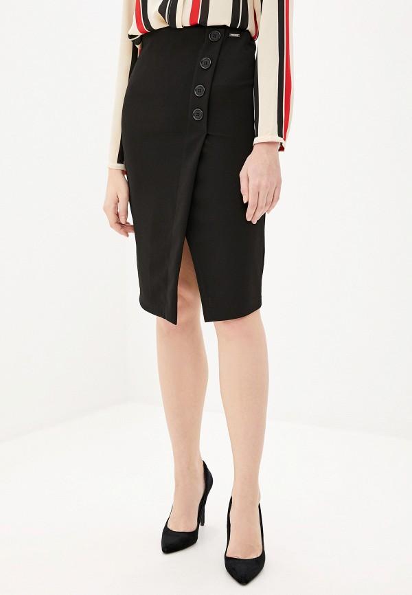 женская прямые юбка pdk, черная