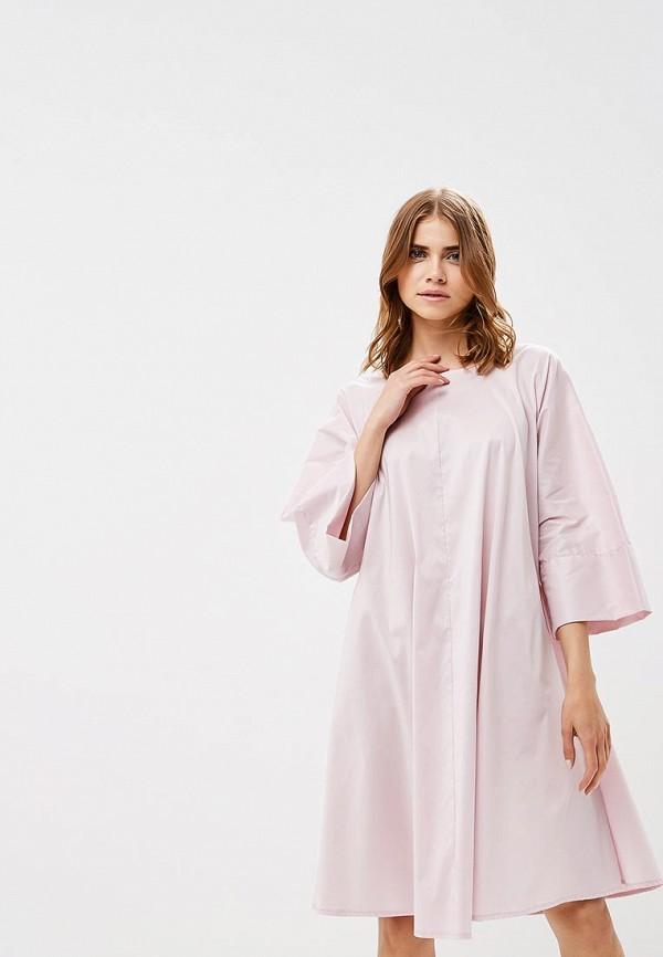 женское повседневные платье pepen, розовое