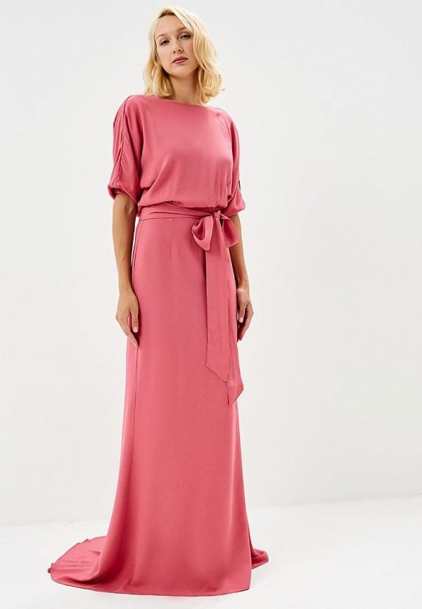 женское вечерние платье pepen, розовое
