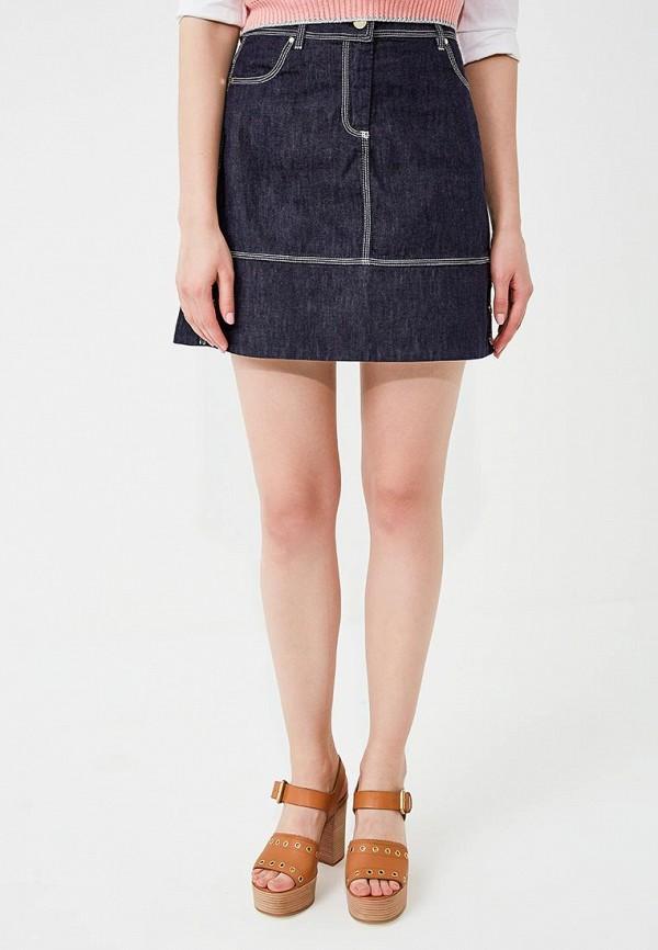 Юбка джинсовая Pennyblack Pennyblack PE003EWAEED6 цена