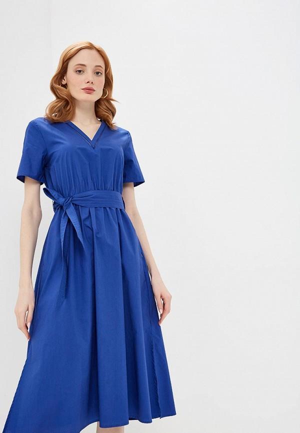 женское повседневные платье pennyblack, синее