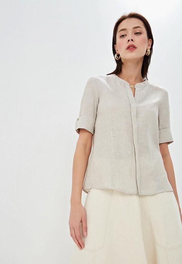женская блузка pennyblack, бежевая