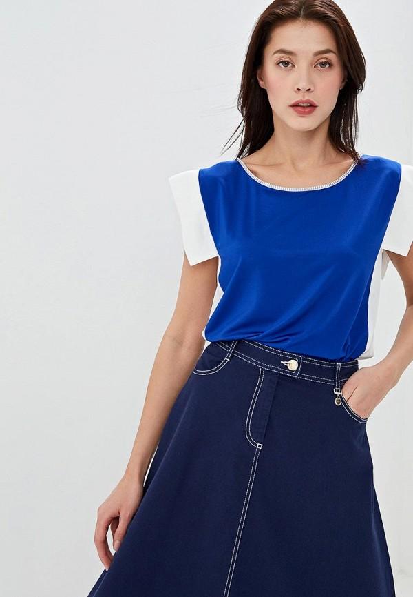 женская футболка pennyblack, синяя