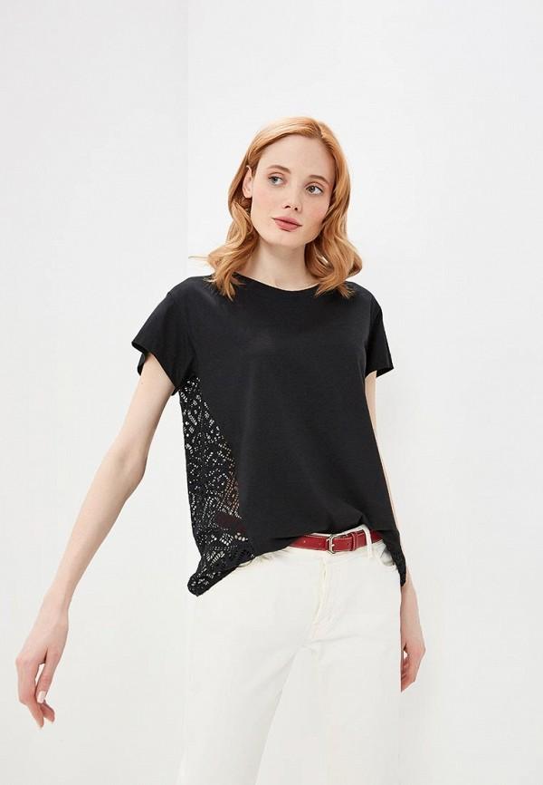 женская футболка pennyblack, черная
