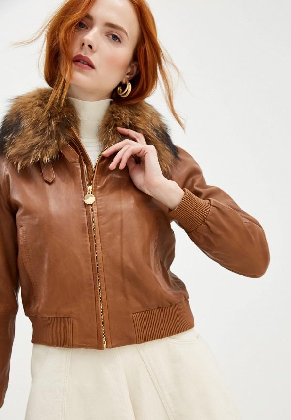 цены на Куртка кожаная Pennyblack Pennyblack PE003EWGHOI1  в интернет-магазинах