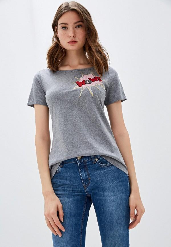 женская футболка pennyblack, серая