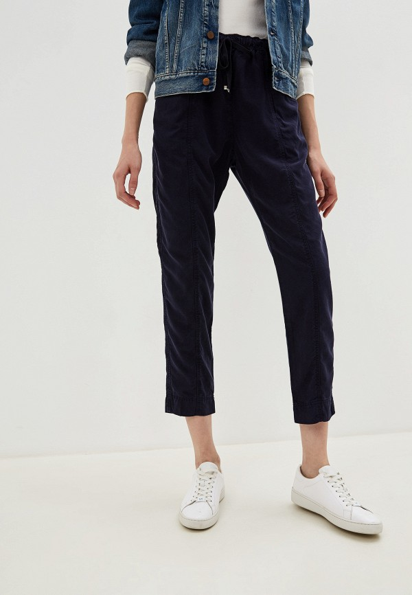 женские брюки pennyblack, синие