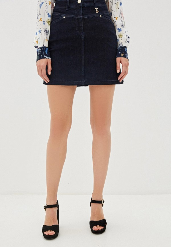 цена Юбка джинсовая Pennyblack Pennyblack PE003EWGHPB4